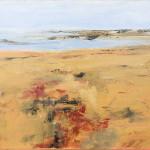 Bassa  marea - olio su tela cm 60x100
